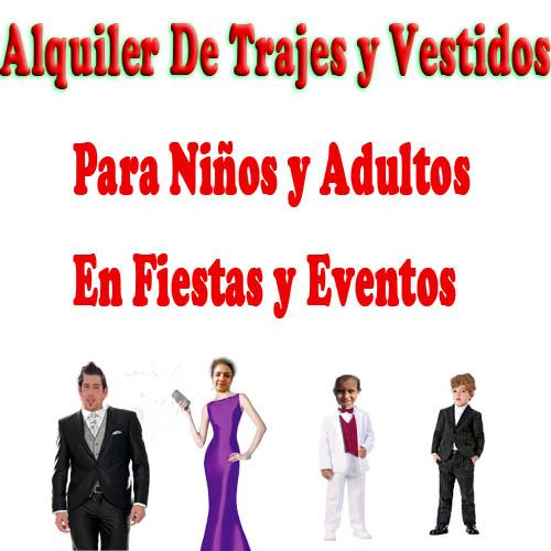 alquilar-trajes-para-fiestas-y eventos-trajesparaniños y adultos