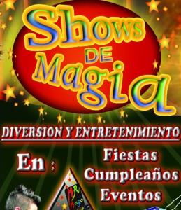 Show de magia para adultos