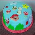 Torta Fondant Mario Bros